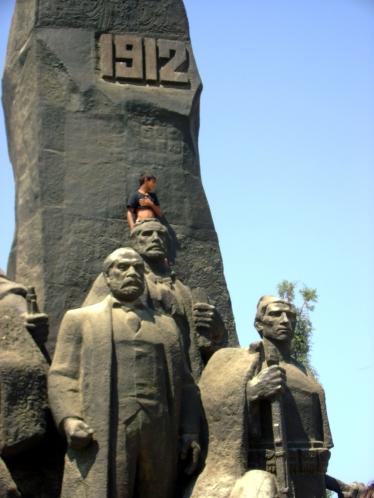 Monumento a la Independencia en Vlora