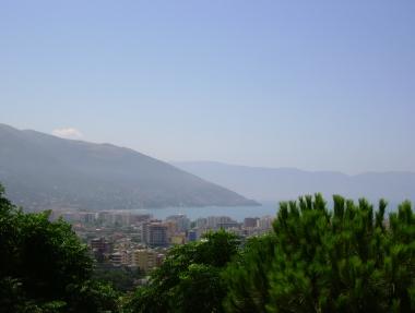 Vlora desde la colina de Kuz Baba