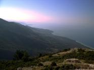 La Riviera albanesa desde el paso de Llogara