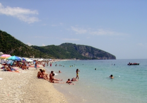 Dhermi playa