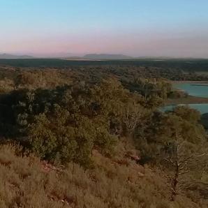 La Almenara desde las Lagunas de Ruidera