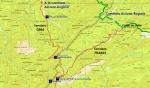 Accesos a La Almenara por el norte